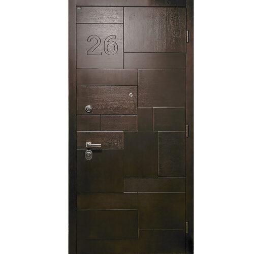 Двери с МДФ накладками